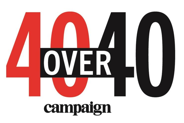 UK winners of Campaign 40 Over 40 revealed