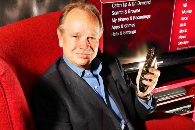 Nigel Gilbert: chief marketing officer, Virgin Media (picture credit: Steve Orino)