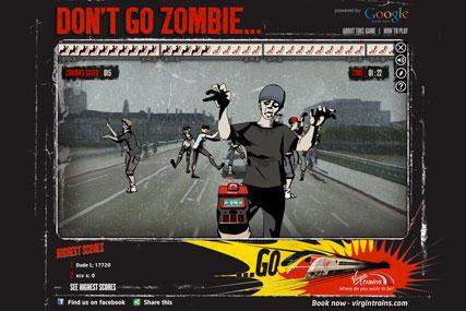 Virgin Trains: zombie game features Sir Richard Branson