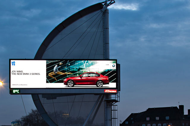 Digital outdoor: recorded its highest ever ad haul for a quarter in 2011