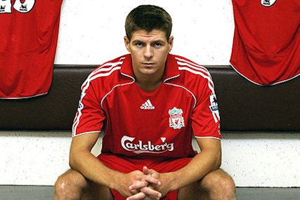 Steven Gerrard: calls for kids to sign up to adiStars