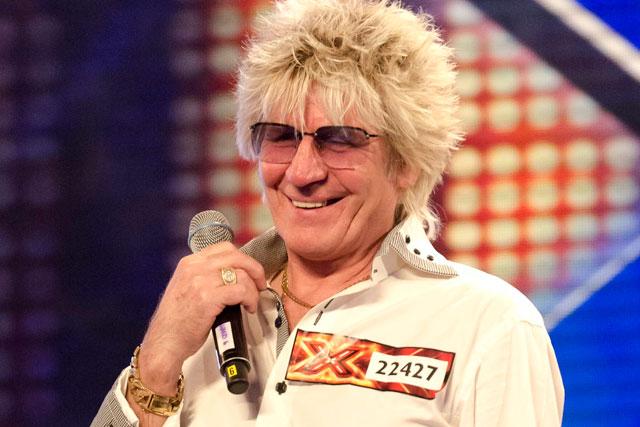 The X Factor: Rod Stewart lookalike Alex McLeish
