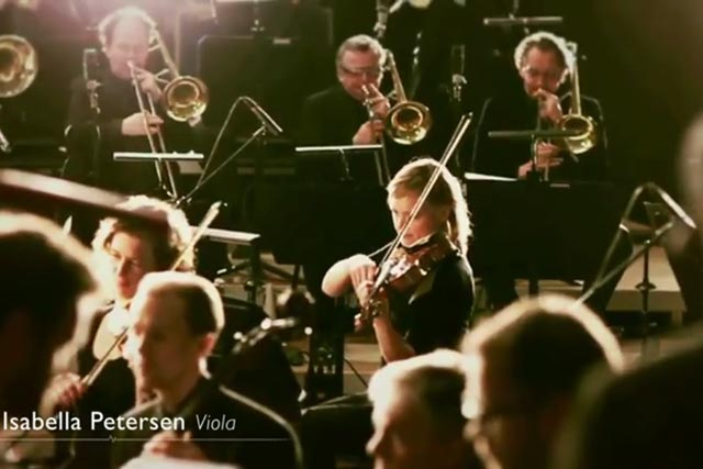 Philips: online campaign features the Dutch Metropole Orchestra