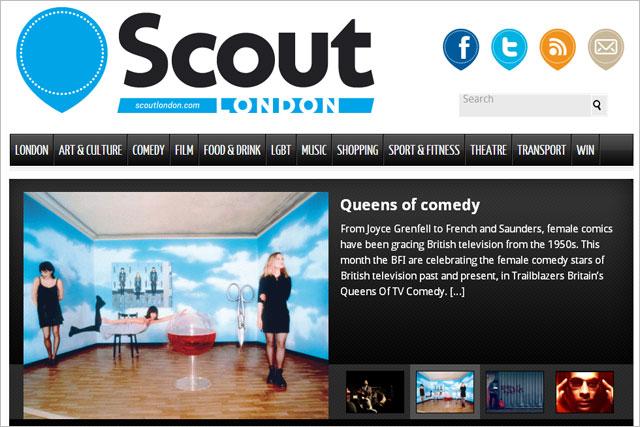 Scout London: drops print project