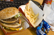 Junk food...Ofcom says restrictions are working