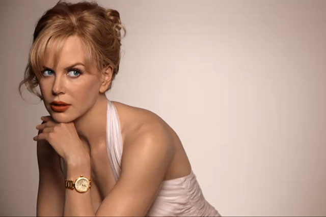 Nicole Kidman in Omega's latest spot