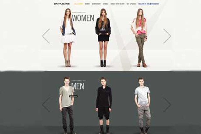 DKNY Jeans International launches new website