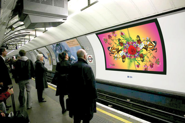 London Underground... ad spat