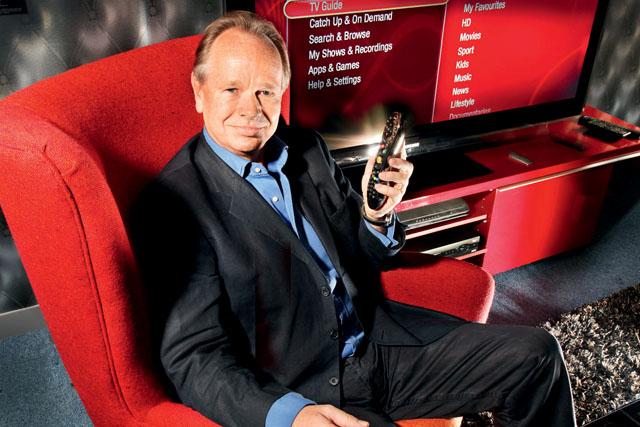 Virgin Media chief marketing officer Nigel Gilbert