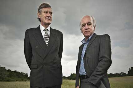 Robert Ballin (l), Brian Watson: start-up