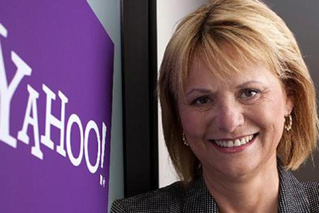 Carol Bartz: chief executive of Yahoo