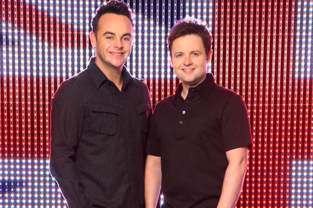 Britain's Got Talent's Ant and Dec
