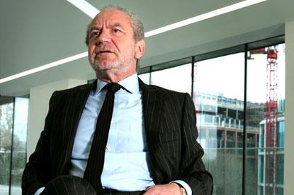 Sir Alan Sugar...Apprentice guru and former Amstrad bos