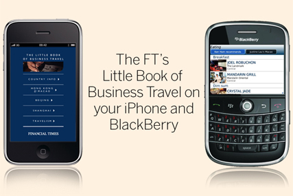 FT: launches mobile travel guide