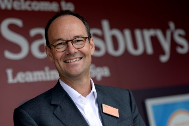 Sainsbury's chief executive Mike Coupe