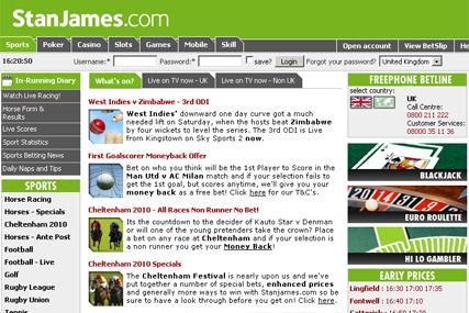 Stan James: bookmaker appoints Village Green
