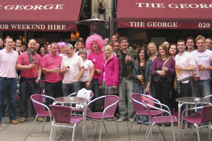 Breast Cancer Campaign: agency hunt