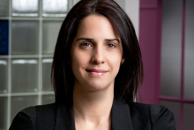 Claire Valoti: managing director of O2 Media