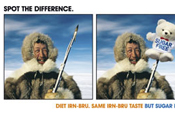 Irn Bru... can you spot the difference?