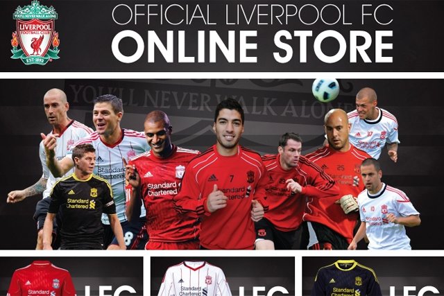 best service dc99c 95ad0 Liverpool FC scores first football m-commerce site