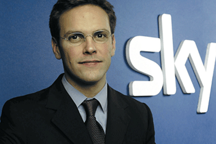 James Murdoch: chief executive of News Corporation in Europe and Asia