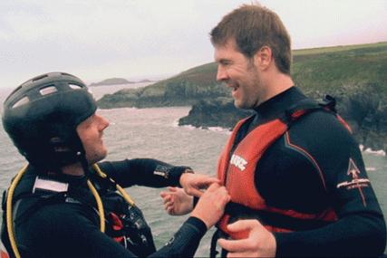 Visit Wales: TV ads star comedian Rhod Gilbert