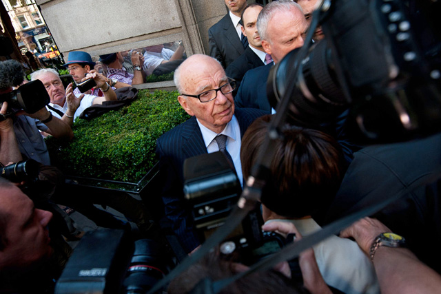 Murdoch...the News Corp chairman is in the firing line