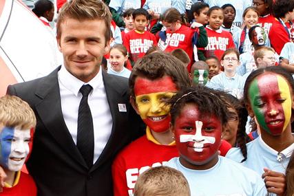 David Beckham: backs the FA's bid