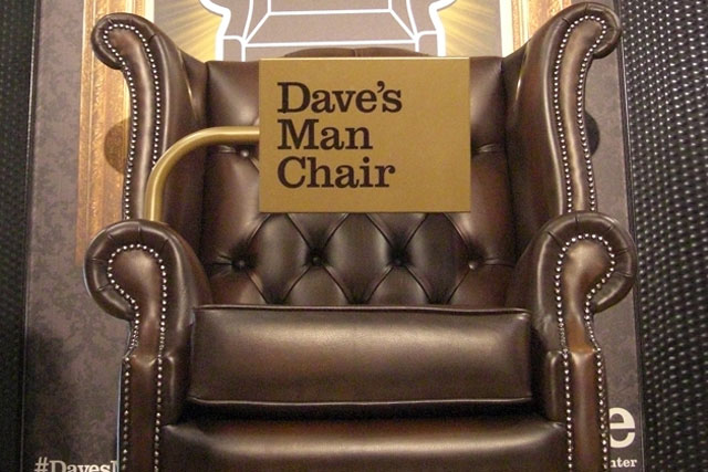 Dave: installs 'man chairs' in Burton stores