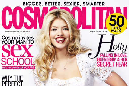 Cosmopolitan: covermounts brought mixed results