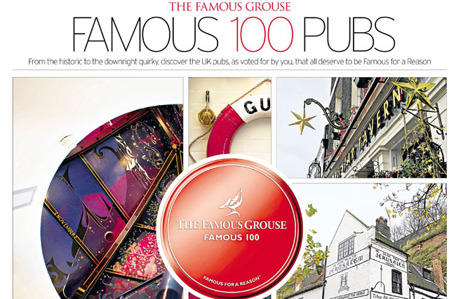 Recent Telegraph/Famous Grouse work