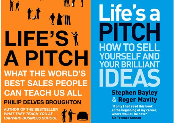 Life's a pitch ..