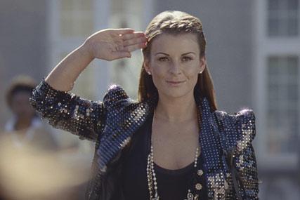 Coleen Rooney: Littlewoods 'boot camp' TV ad