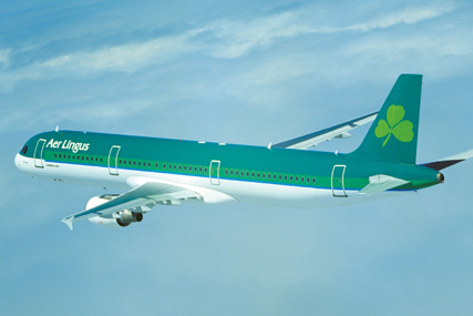 Aer Lingus: wants to hire separate agencies in the UK and Ireland
