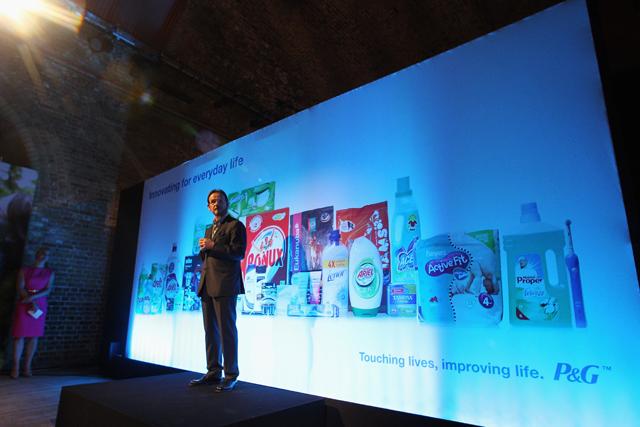 Paris Kafantaris, marketing vice-president of Western Europe, speaking at Vinopolis in January
