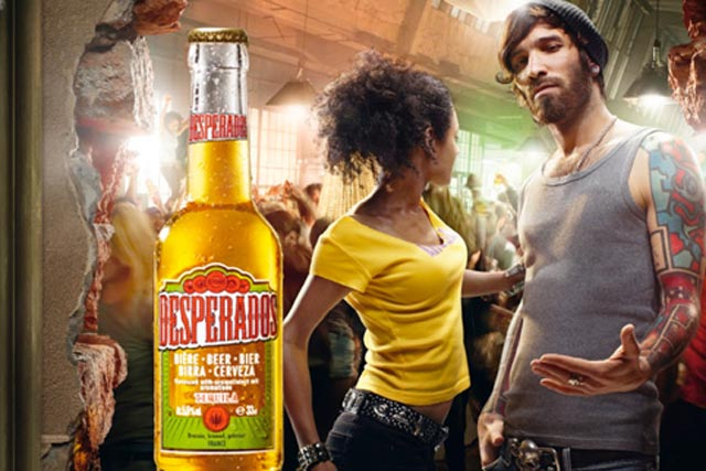 Desperados: crowdsources dance music for Facebook track