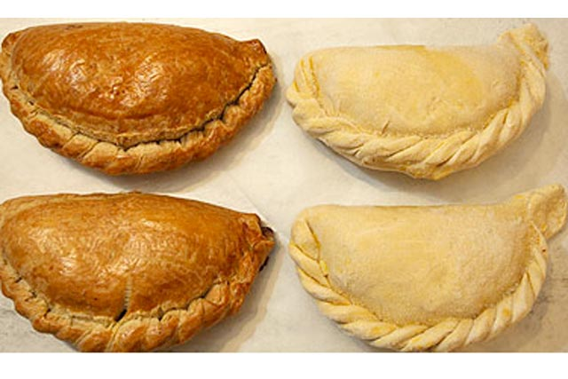 Cornish Pasties: awarded protected food status by the EU