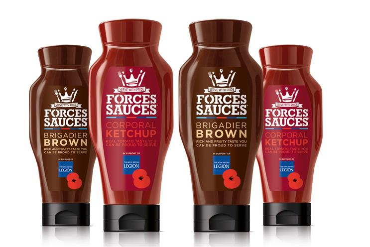 Royal British Legion and Stoll back Forces Sauces initiative