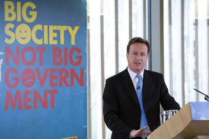 David Cameron's government is in talks with broadcasters