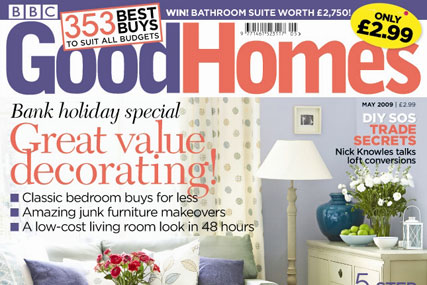 BBC's Good Homes magazine saved from closure by Kelsey Publishing