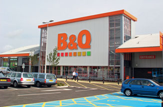 B&Q reports strong sales