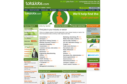 Total Jobs…its integrated advertising account has been awarded to Albion ahead of VCCP