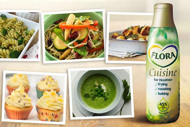 Flora Cuisine: runs Facebook cookbook promotion
