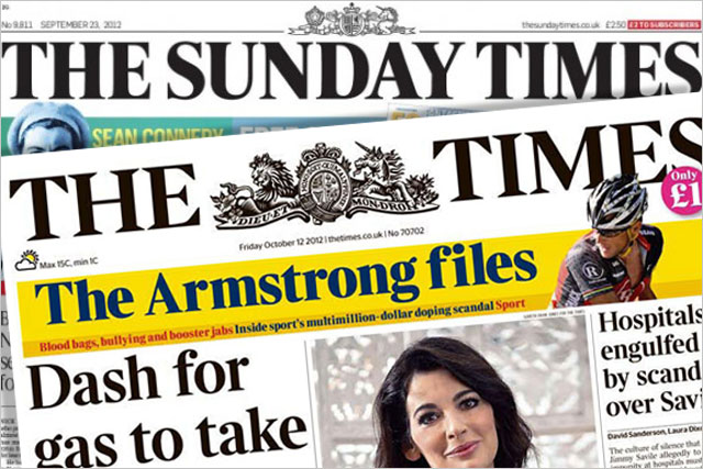 The Times: corporate sales boost to circulation figures