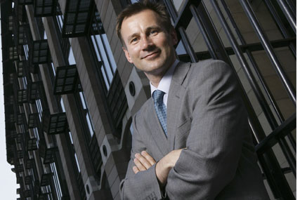 Shadow culture minister Jeremy Hunt