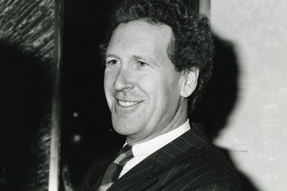 Louis-Dreyfus...pictured in 1990 when he took over as Saatchis' CEO