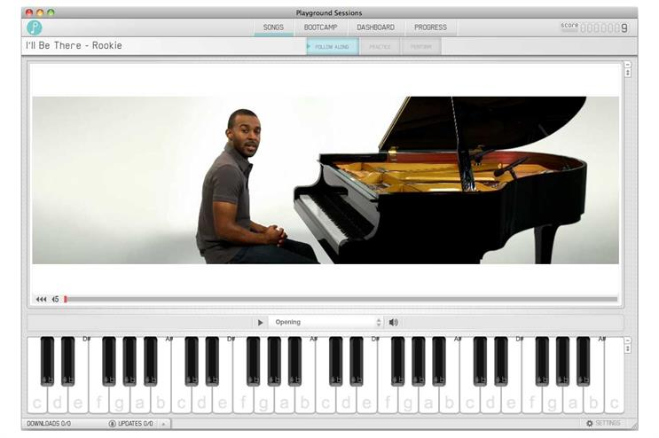 YouTube piano lessons: Playground Sessions