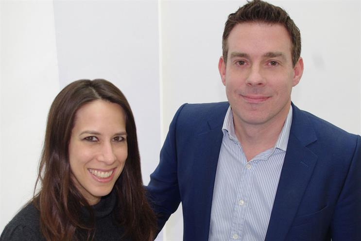 Colleagues: Tammy Smulders of SCB Partners and Havas Media MD Paul Frampton