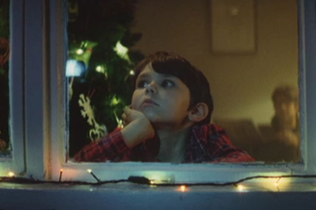 Jihn Lewis: scene from retailer's popular Christmas 2011 ad campaign