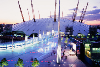 Sky...sponsoring O2 Arena